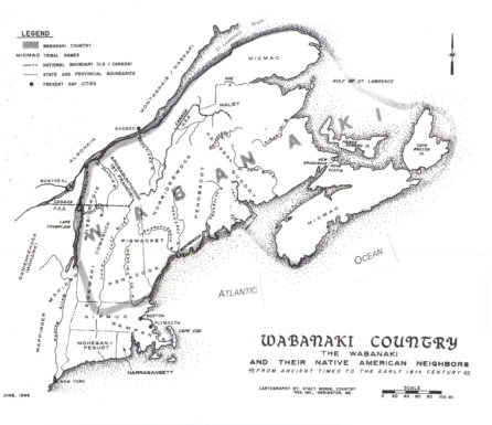 Wabanaki Country—from Ancient Times to the Early 18th Century