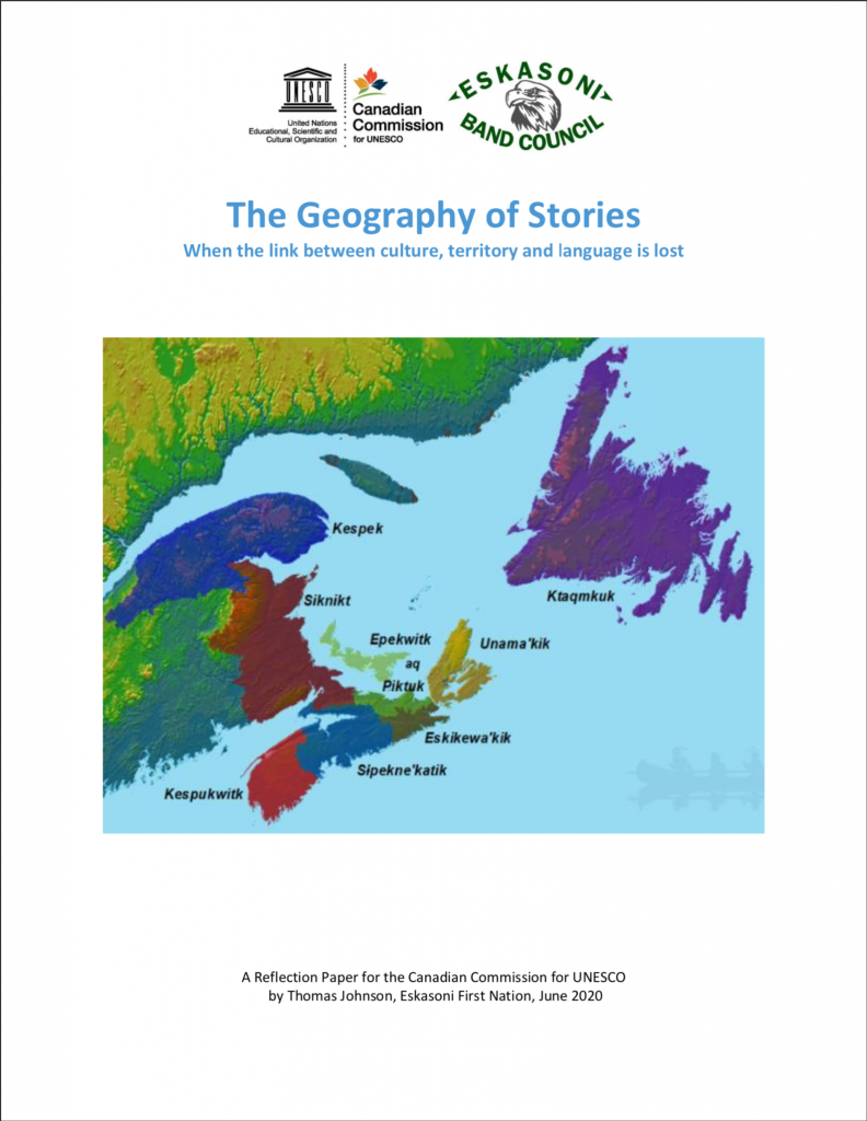 The Geography of Stories: When the link between culture, territory and language is lost
