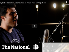 Jeremy Dutcher listens to his ancestors on Polaris Prize-winning album