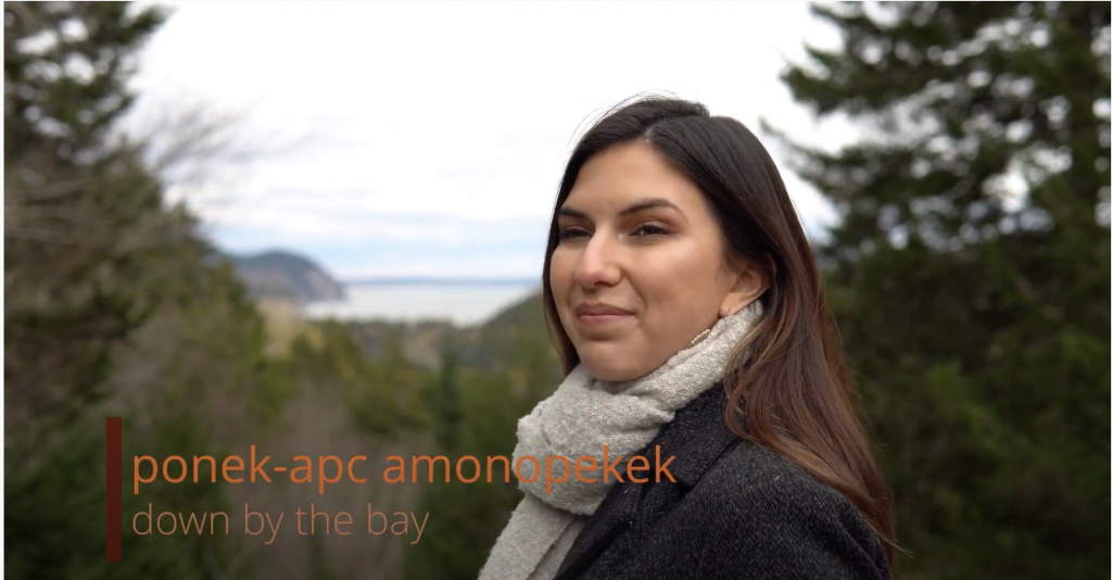 ponek – apc amonopekek (Down by the Bay) with Emma Hassencahl-Perley