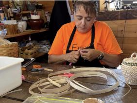 Day School Survivor Shares Tradition Of Making Mi'kmaw Baskets